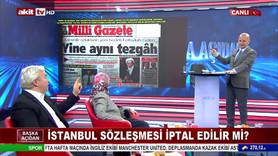 Akit Tv'de Milli Gazete tartışması