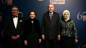 Doğan, Erdoğan'ın katıldığı gecede konuştu