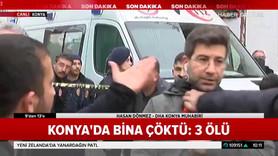 Konya'da DHA muhabirine saldırı