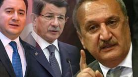 Ağar'dan Davutoğlu ve Babacan'a olay sözler!