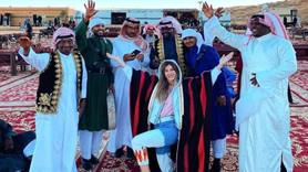 Suudiler'den Şeyma Subaşı'lı imaj atağı!
