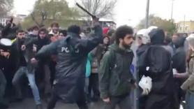 Öğrencilere saldıran polis hakkında flaş karar!