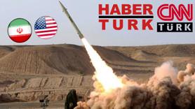 İran ABD'yi vurdu, Habertürk ve CNN Türk uyudu!