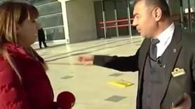 TCDD görevlisinin Fox muhabirine tepkisi olay oldu