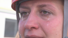 Canlı yayında gözyaşlarına hâkim olamadı