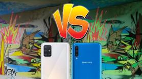 Samsung Galaxy A51 vs A50 | Hangisi kamera iyi?