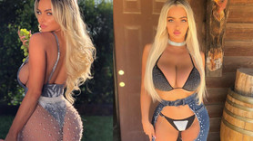 Ünlü oyuncunun bikinili paylaşımı olay oldu!