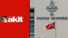 AYM'den Akit'e kötü, Kılıçdaroğlu'na iyi haber!