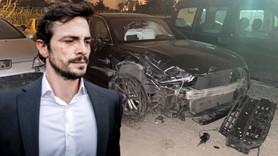 Alkollü araç kullanan Ahmet Kural kaza yaptı