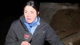 CNN Türk ekibi depreme canlı yayında yakalandı