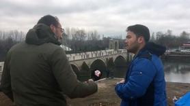 A Haber muhabiri, sığınmacıya tek tek anlattı!