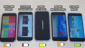 Orta segment akıllı telefonlar pil testinde!