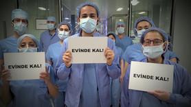 Sağlık çalışanları Türkiye'ye rap ile seslendi
