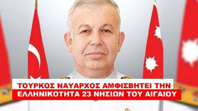 Yunan oyununu bozan Türk Amirale ölüm tehditleri