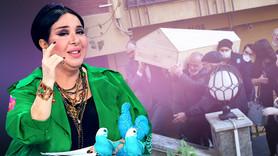 Nur Yerlitaş'ın cenazesi evden çıktı!