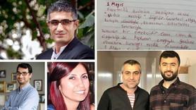 Tutuklu gazetecilerden 1 Mayıs mesajı!