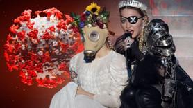 Madonna, koronavirüs ile dalga geçti!