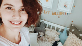 Bergüzar Korel'den 'bebek' paylaşımı!