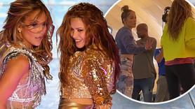 Jennifer Lopez ve Shakira'dan kalça şov!