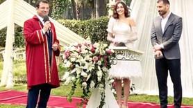 Ünlü çiftin nikahını İmamoğlu kıydı!