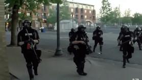 Bacağından vurulan gazeteci gözaltı anını kaydetti