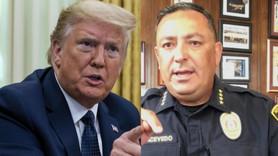 Polis şefinden Trump'a sert tepki: Kapat çeneni