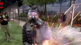 Ses bombası canlı yayında muhabire isabet etti!