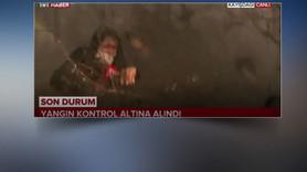 TRT muhabiri neye uğradığını şaşırdı!