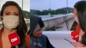 CNN muhabiri canlı yayında soyuldu