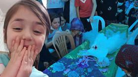 7 yaşındaki İkranur'a gözyaşlarıyla son veda!