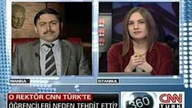 O ÜNİVERSİTE SİZİN Mİ SAYIN REKTÖR? CNNTÜRK SPİKERİ REKTÖRLE NASIL TARTIŞTI? (VİDEO)