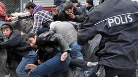 DEPREMZEDELERE COP VE BİBER GAZI!