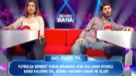 ATV'NİN YENİ YARIŞMASI ''GÜVEN BANA'' YANLIŞ SORUYLA MI START ALDI?