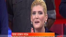 ÖZGE UZUN CNN TÜRK'E GÖZYAŞLARI İÇİNDE VEDA ETTİ! (MEDYARADAR- ÖZEL)