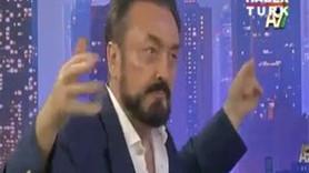 ADNAN OKTAR 'ANKARA'NIN BAĞLARI' İLE YERİNDE DURAMADI!