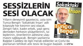 MİLLİYET'İN YENİ YAZARI OKURLARINA MERHABA DEDİ!