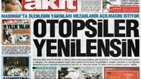 YENİ AKİT'E SUÇ DUYURUSU!