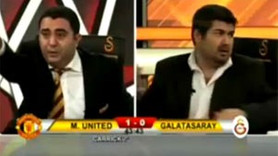 GS TV SPİKERİ CANLI YAYINDA ÇILDIRDI! VİDEO