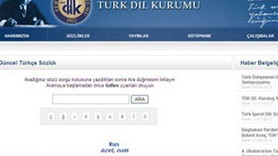 TÜRK DİL KURUMU'NUN ARAMA MOTORUNDA SKANDAL!