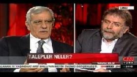 AHMET TÜRK, ÖCALAN'IN BARIŞ PLANINI CANLI YAYINDA ANLATTI