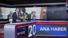 TRT Haber'de yeni döneme yeni logo, yeni stüdyo!