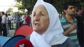 GEZİ PARKI'NDA DİRENEN NİNEDEN BAŞBAKAN'A SİTEM!