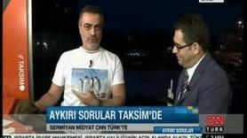 CNNTÜRK CANLI YAYININDA PENGUEN PROTESTOSU!