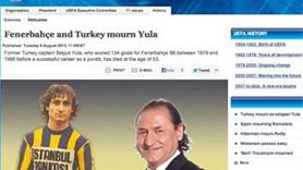 UEFA SELÇUK YULA'NIN VEFATINI MANŞETE TAŞIDI!