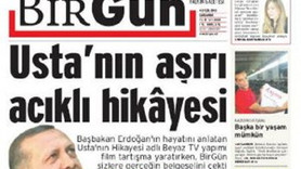 BİRGÜN'ÜN 'USTA' MANŞETİ YABANCI BASINA KONU OLDU!