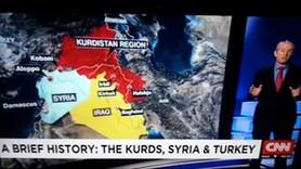 CNN'den tepki çeken Kürdistan haritası!