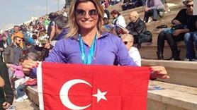 Ece Vahapoğlu Atina'da derece yaptı