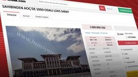 Hürriyet AK Saray ilanı için mahkemeye gidiyor
