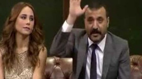 Beyaz Show'a damga vuran slogan! Ali İsmail Korkmaz Fenerbahçe yıkılmaz