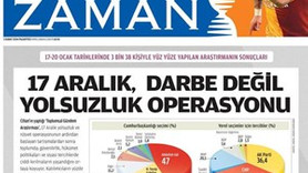 Zaman'ı protesto edenler hangi gazetenin çalışanı çıktı?